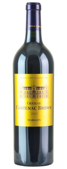 2012 Cantenac Brown Bordeaux Blend
