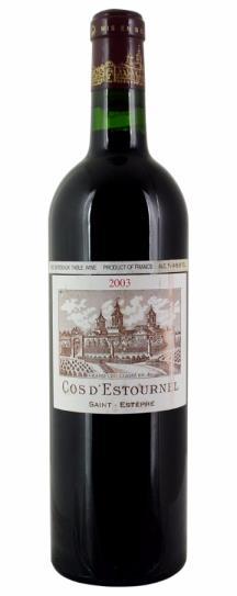 2003 Cos d'Estournel Bordeaux Blend