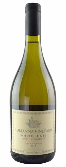 2013 Catena Zapata, Bodegas Chardonnay White Bones