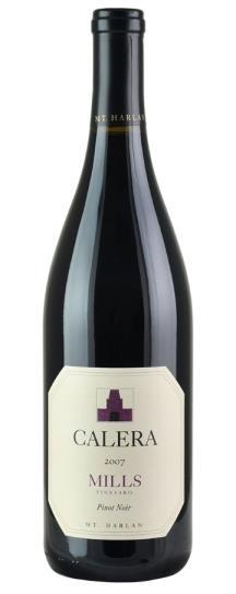 2007 Calera Pinot Noir Mills Vineyard