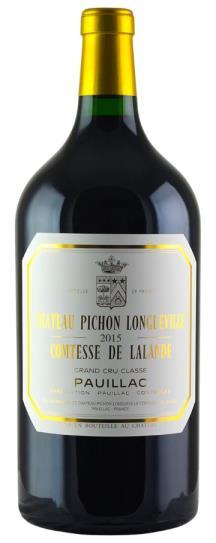2015 Pichon-Longueville Comtesse de Lalande Bordeaux Blend