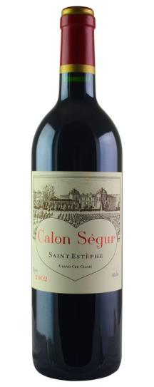 2002 Calon Segur Bordeaux Blend