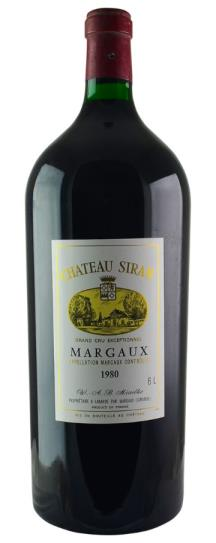 1980 Siran Bordeaux Blend