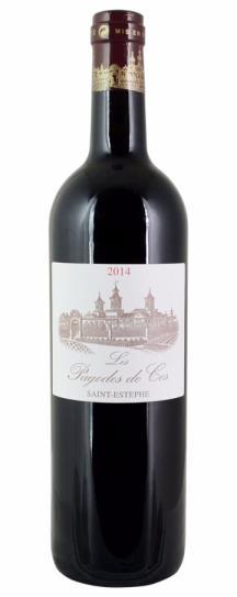 2016 Les Pagodes de Cos Bordeaux Blend