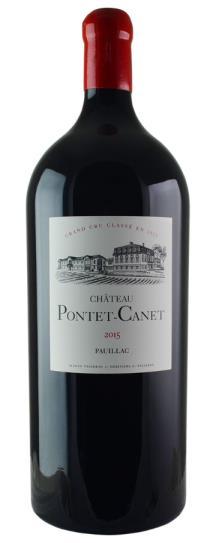 2015 Pontet-Canet Bordeaux Blend