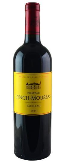 2015 Lynch Moussas Bordeaux Blend