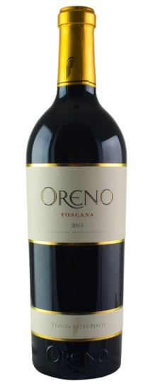 2016 Sette Ponti Oreno Proprietary Red Wine