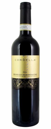 2012 Cordella Brunello di Montalcino