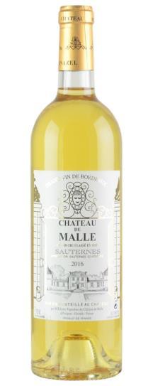 2016 Chateau de Malle Sauternes Blend