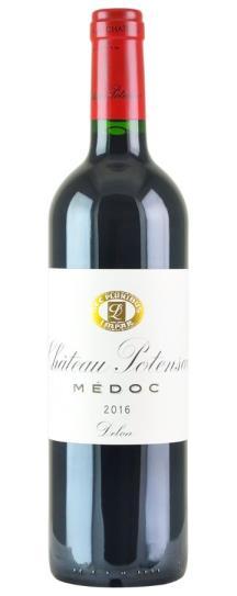 2016 Potensac Bordeaux Blend