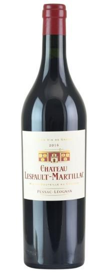 2016 Lespault Martillac Bordeaux Blend