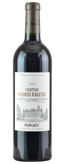 2016 Marquis d'Alesme Becker Bordeaux Blend