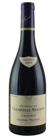 2015 Frederic Magnien Chambolle Musigny les Charmes Vieilles Vignes