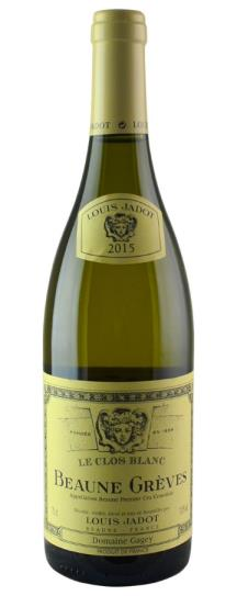 2015 Louis Jadot Beaune Greves Le Clos Blanc