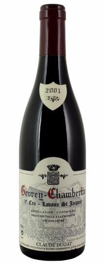 2001 Domaine Claude Dugat Gevrey Chambertin Lavaux St Jacques