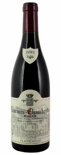 2001 Dugat, Domaine Claude Charmes Chambertin