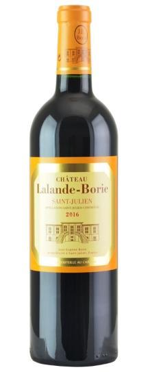 2016 Lalande Borie Bordeaux Blend