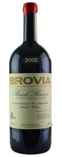 2005 F Ili Brovia Barolo Riserva Rocche Villero 150 Anniversario