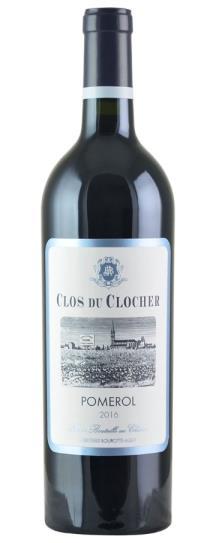 2016 Clos du Clocher Bordeaux Blend