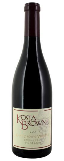 2014 Kosta Browne Pinot Noir Gap's Crown Vineyard