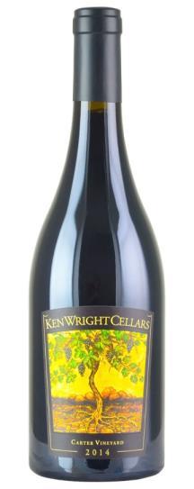 2014 Ken Wright Cellars Pinot Noir Carter Vineyard