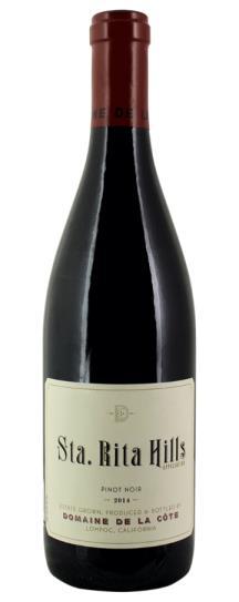 2014 Domaine de la Cote Sta. Rita Hills Pinot Noir
