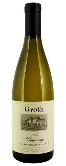 2014 Groth Groth Chardonnay Hillview Vineyard