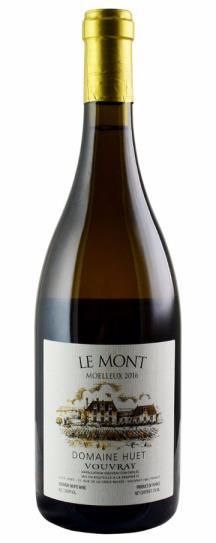 2016 Domaine Huet Vouvray Le Mont Moelleux