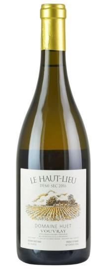 2016 Domaine Huet Vouvray Le Haut-Lieu Demi-Sec