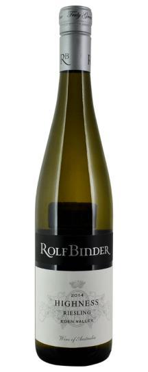 2014 Binder Wines, Rolf Riesling Highness