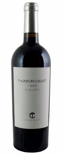 1983 Domaine Thunevin-Calvet Maury Vin Doux Naturel