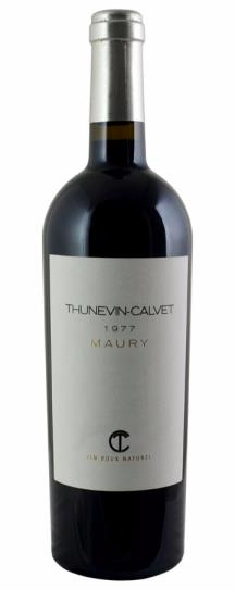 1977 Domaine Thunevin-Calvet Maury Vin Doux Naturel