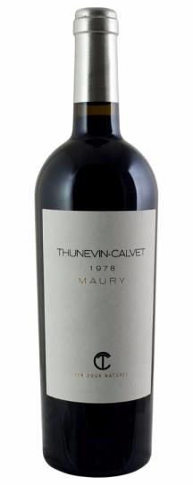 1978 Domaine Thunevin-Calvet Maury Vin Doux Naturel