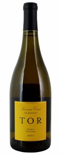 2015 Tor Kenward Family Vineyards Chardonnay Durell Vineyard Dijon Clones