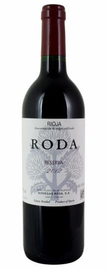 2012 Bodegas Roda Rioja Roda Reserva