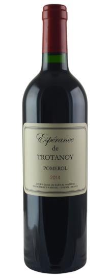 2014 Esperance deTrotanoy Bordeaux Blend