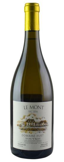 2016 Domaine Huet Vouvray Le Mont Sec