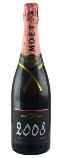 2008 Moet & Chandon Grand Vintage Rose