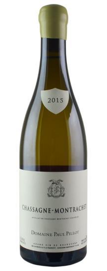 2015 Paul Pillot Chassagne Montrachet Blanc