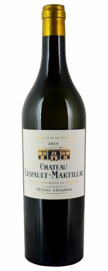2013 Lespault Martillac Blanc