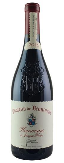 2017 Chateau de Beaucastel Chateauneuf du Pape Hommage A Jacques Perrin
