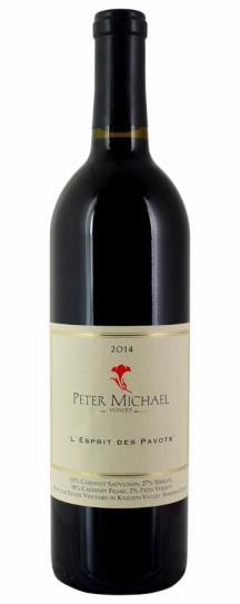 2014 Peter Michael Winery L'Esprit des Pavots