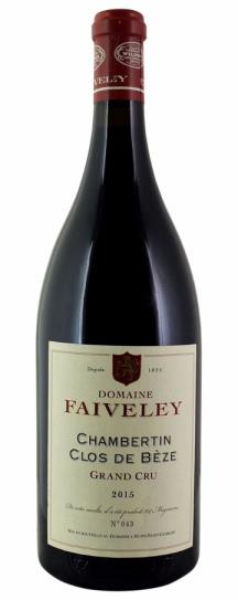 2015 Domaine Faiveley Chambertin Clos de Beze Grand Cru