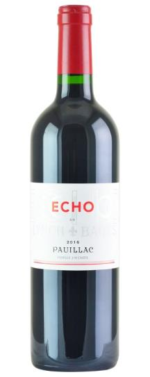 2018 Echo de Lynch Bages Bordeaux Blend