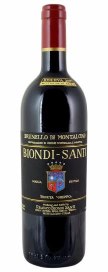 2007 Biondi Santi Brunello di Montalcino Riserva