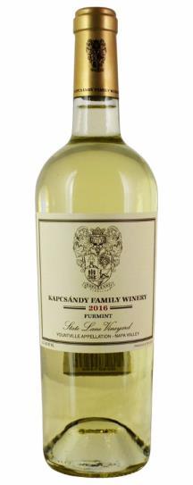 2016 Kapcsandy Family Winery Furmint State Lane Vineyard
