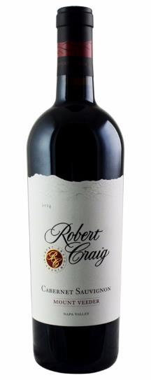 2014 Robert Craig Cabernet Sauvignon Mount Veeder