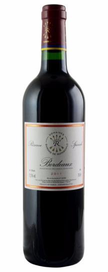 2011 Barons de Lafite Rothschild Reserve Speciale Bordeaux Rouge
