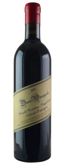 2014 Dunn Cabernet Sauvignon Howell Mountain
