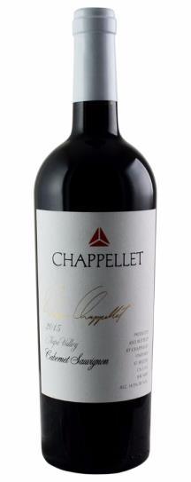 2015 Chappellet Cabernet Sauvignon Signature Napa